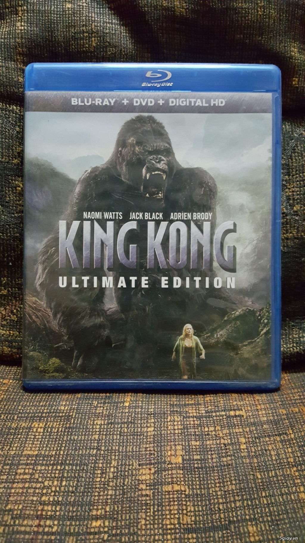 Bluray Phim Gốc King Kong 2005 - 2