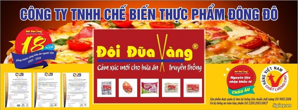 Nhà cung cấp thực phẩm Đông Lạnh Đôi Đũa Vàng