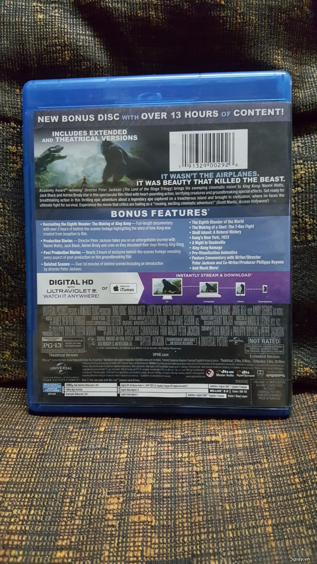 Bluray Phim Gốc King Kong 2005 - 3