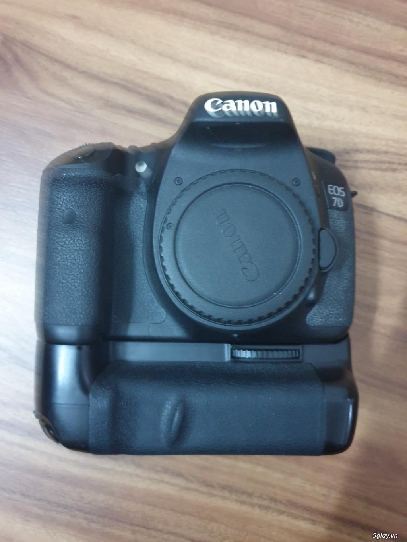 Máy ảnh Canon 7D (body + Grip + 2 pin) đang dùng tốt, ngoại hình đẹp - 3