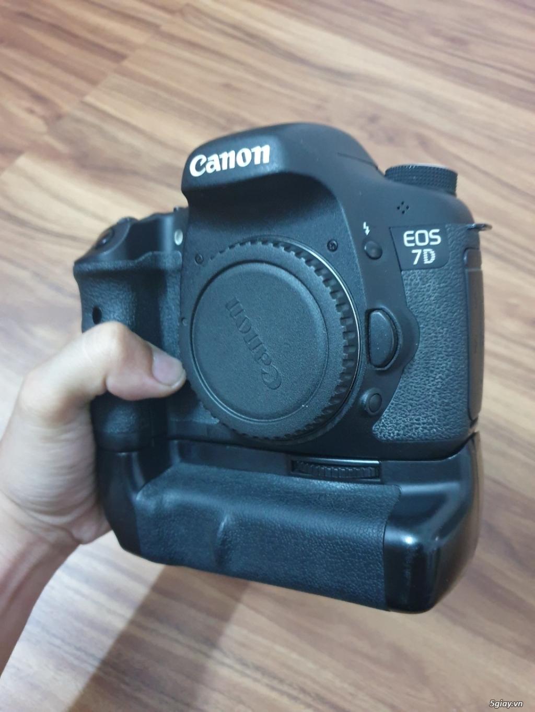 Máy ảnh Canon 7D (body + Grip + 2 pin) đang dùng tốt, ngoại hình đẹp - 2