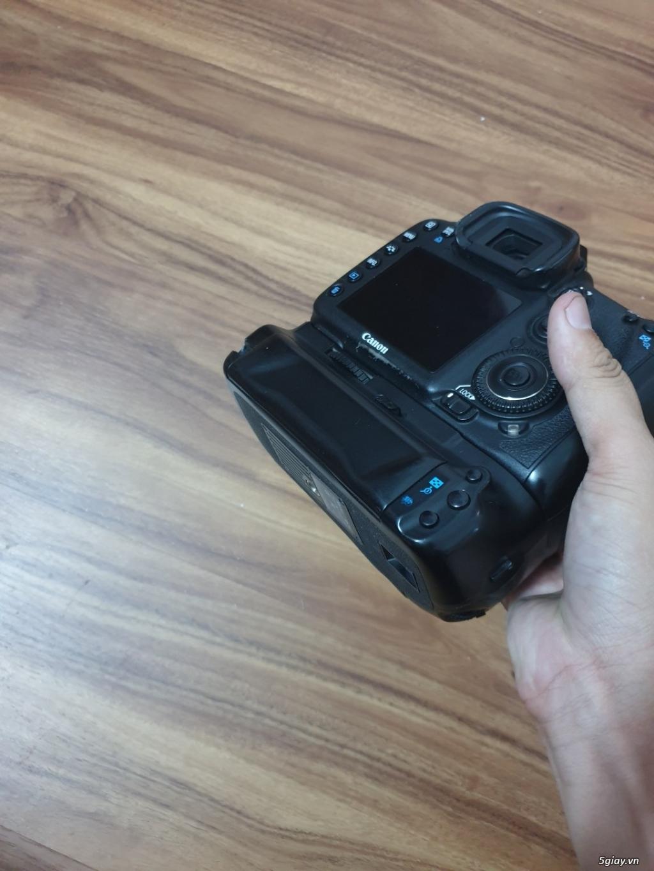 Máy ảnh Canon 7D (body + Grip + 2 pin) đang dùng tốt, ngoại hình đẹp - 7
