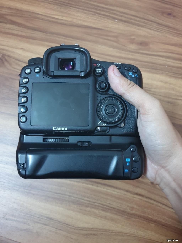 Máy ảnh Canon 7D (body + Grip + 2 pin) đang dùng tốt, ngoại hình đẹp - 5
