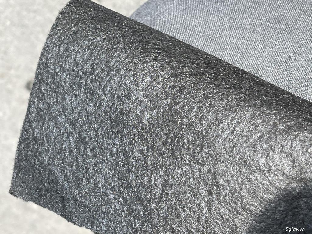 Vải kubu lót sofa , vải nỉ không dệt , vải Felt , vải hút dầu