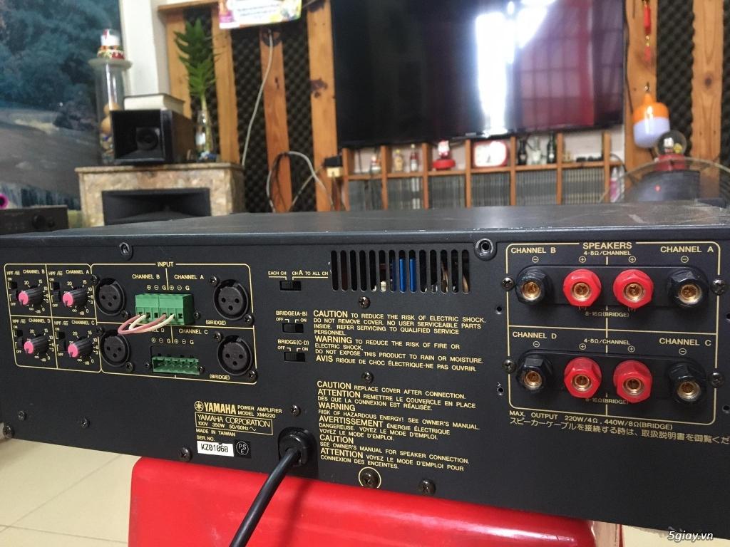 Power Yamaha 2 kênh-4 kênh-monoblock - 8