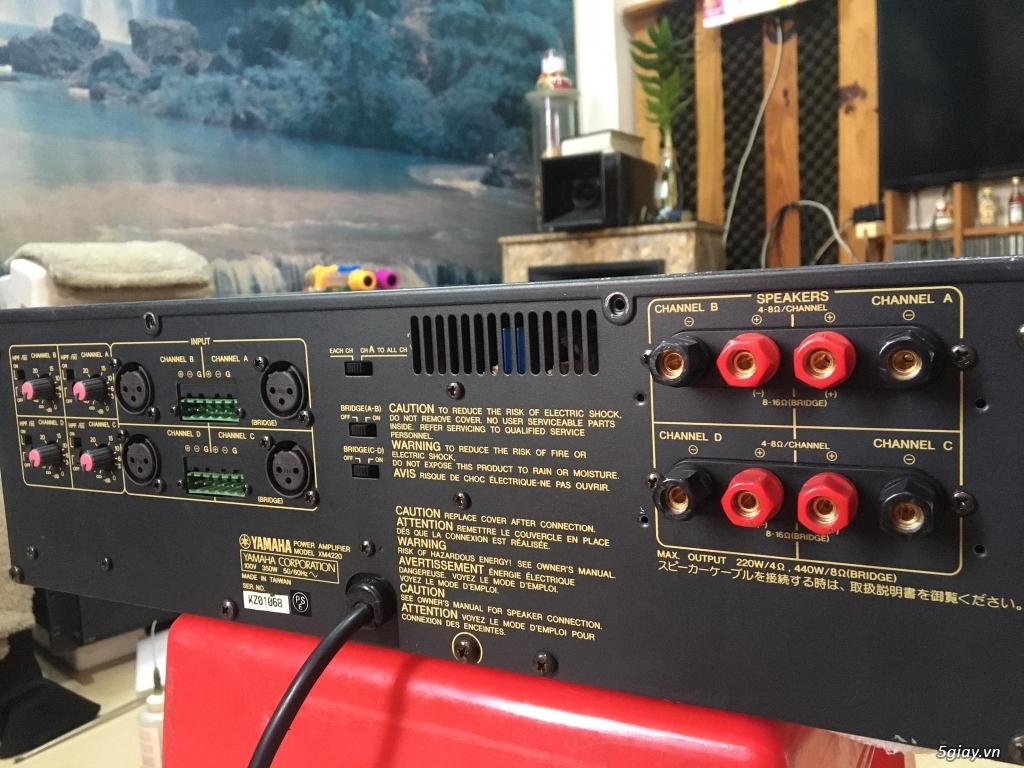 Power Yamaha 2 kênh-4 kênh-monoblock - 9