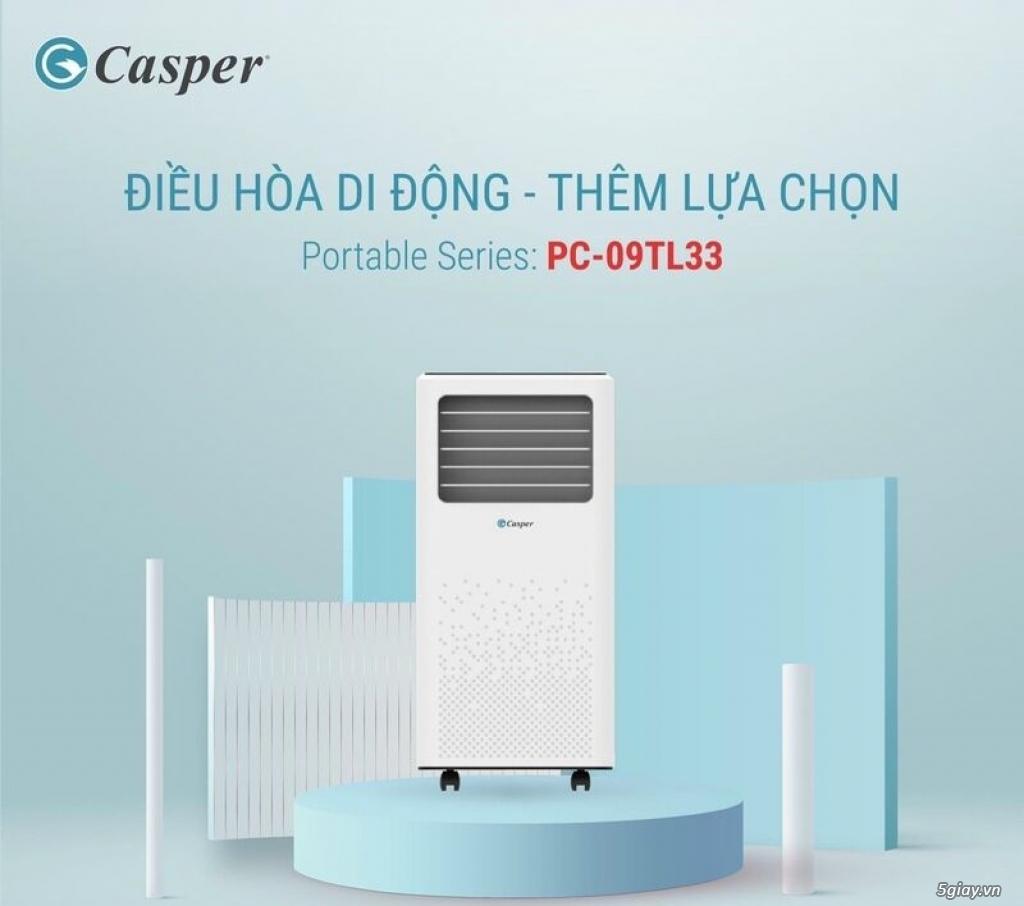 Máy lạnh di động Casper PC-09TL33 1HP NEW 2021( Mi ni)