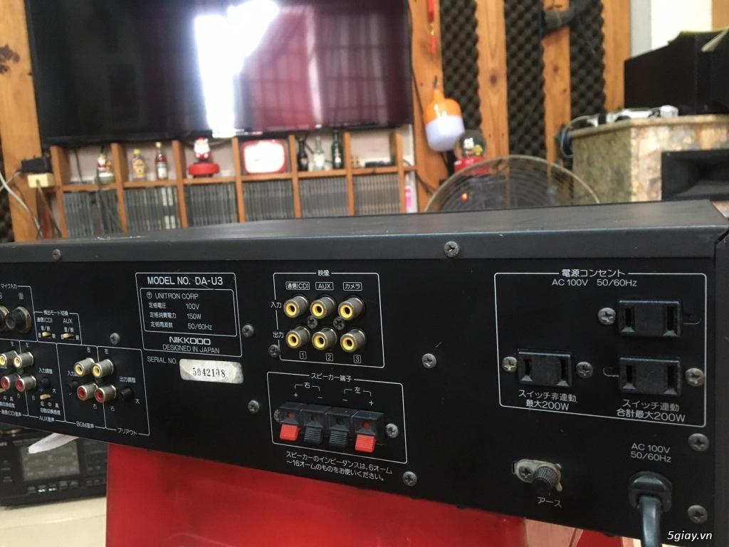 Ampli BMB - DAM - Mixer số - 14