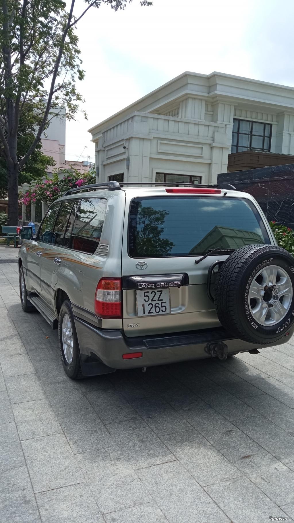 Xe Toyota land cruiser 2005 cầu điện cho người đam mê - 4