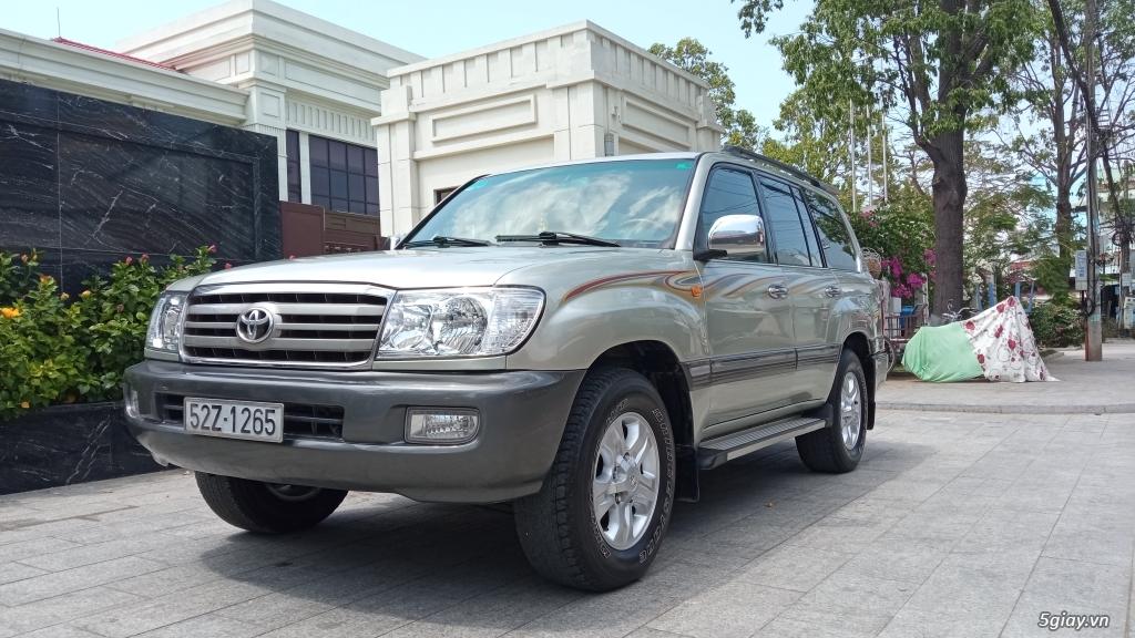 Xe Toyota land cruiser 2005 cầu điện cho người đam mê - 2
