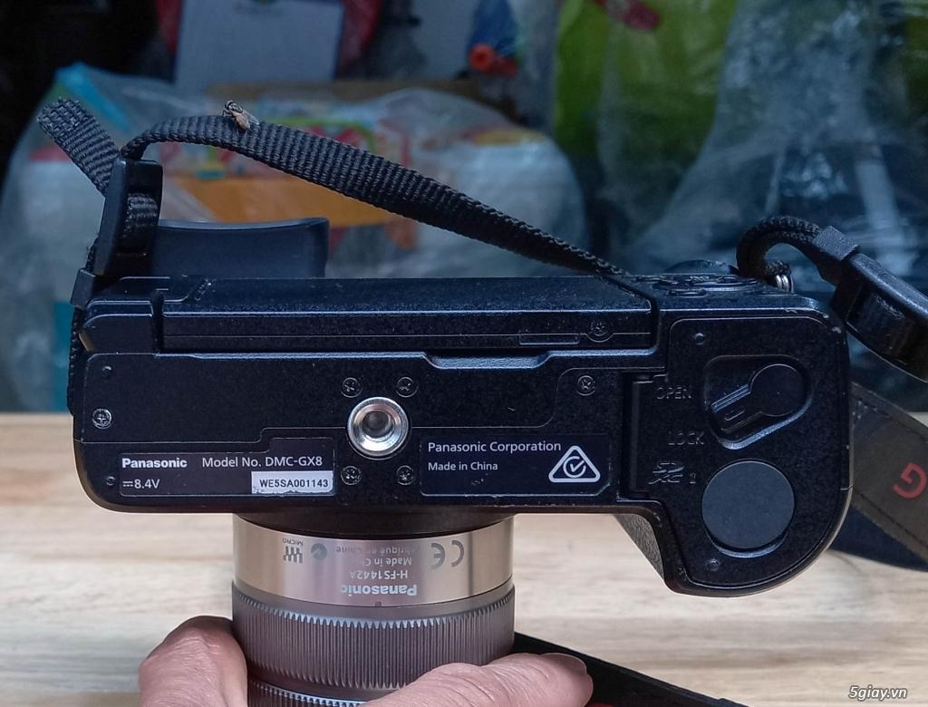 Bán 1 bộ Panasonic Lumix GX8 + lens Lumix 14-42mm HD - 10
