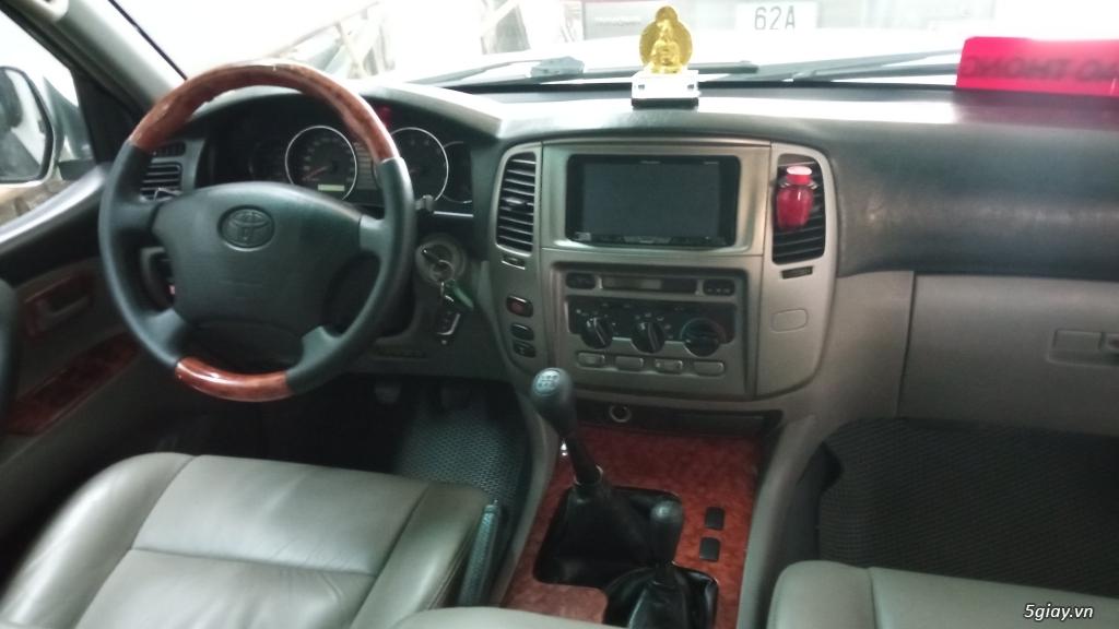 Xe Toyota land cruiser 2005 cầu điện cho người đam mê - 3