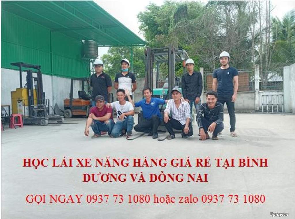 Mở lớp học lái xe nâng điện ở Thuận An Bình Dương, giá rẻ - 1