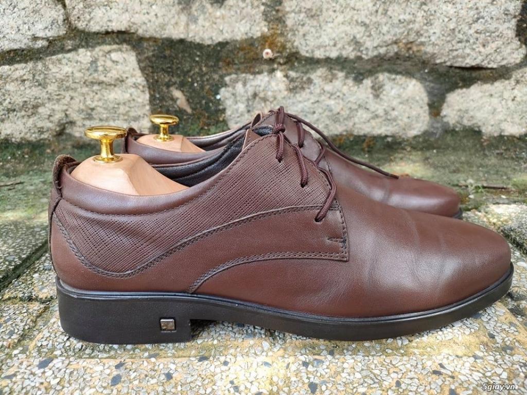giày da 2hand nhập khẩu thương hiệu OSWIN ZL 0907130133 để lựa mẫu đẹp