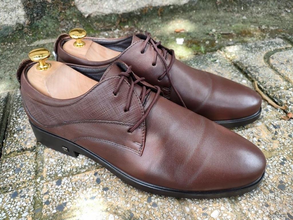 giày da 2hand nhập khẩu thương hiệu OSWIN ZL 0907130133 để lựa mẫu đẹp - 1
