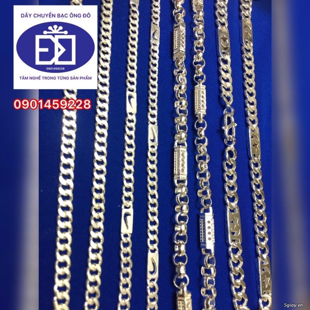 dây chuyền bạc - 9