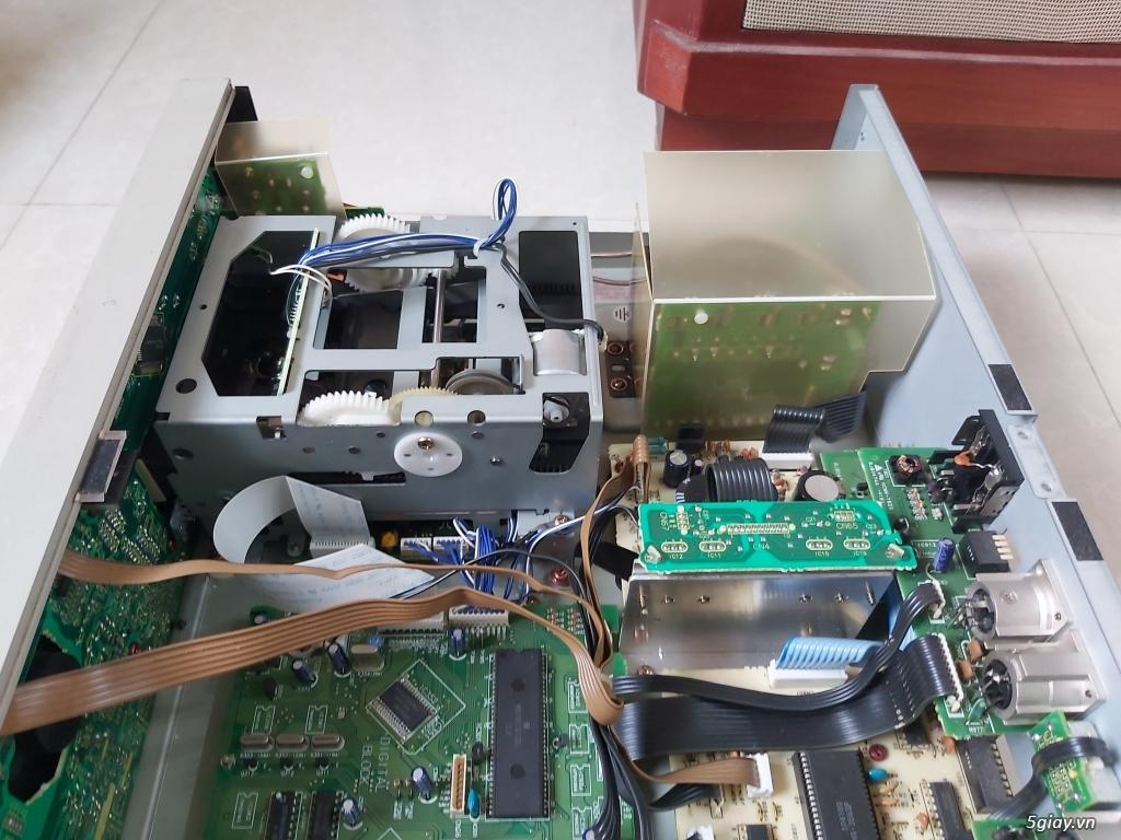 MD Sony JA50ES, Loa Wharfedale W70, Loa Infinity RS-255. - 66