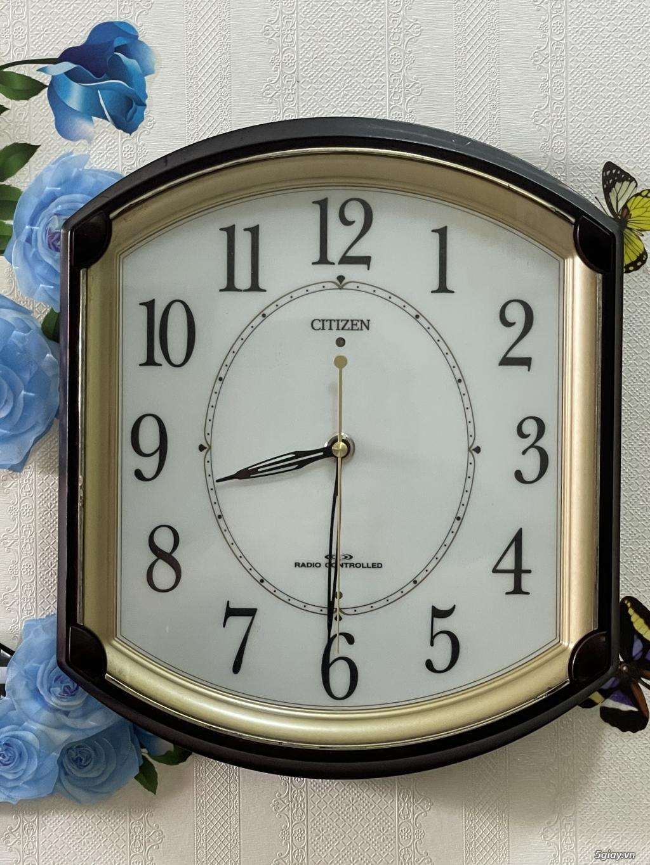 Đồng hồ treo tường nội địa Nhật CASIO, SEIKO,RYHTHM,CITIZEN,SMALLWORL - 7