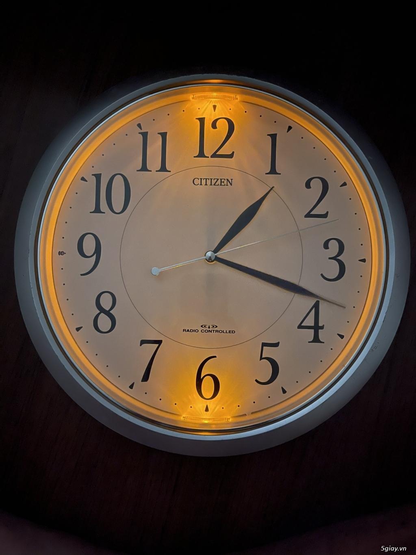 Đồng hồ treo tường nội địa Nhật CASIO, SEIKO,RYHTHM,CITIZEN,SMALLWORL - 8