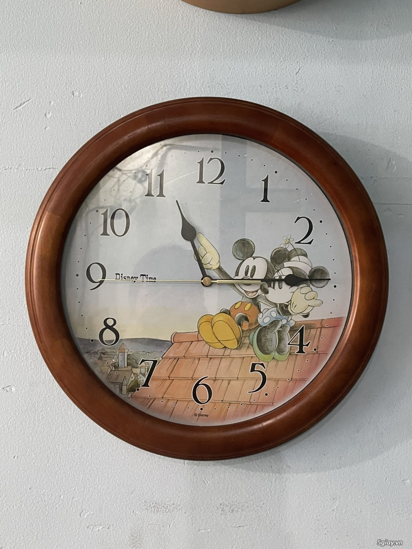 Đồng hồ treo tường nội địa Nhật CASIO, SEIKO,RYHTHM,CITIZEN,SMALLWORL - 1