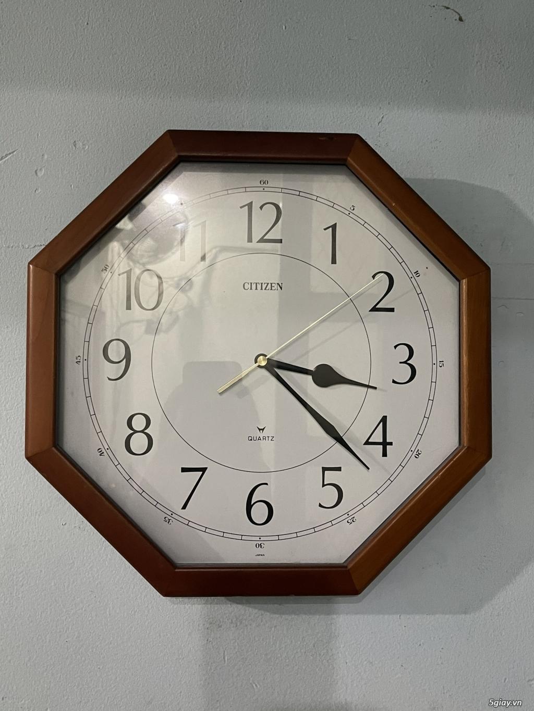 Đồng hồ treo tường nội địa Nhật CASIO, SEIKO,RYHTHM,CITIZEN,SMALLWORL - 10