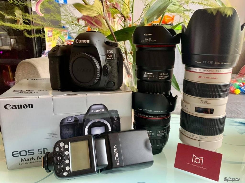 Canon 5D4 & Lens 16-35    24-70    70-200