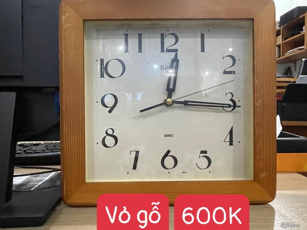 Đồng hồ treo tường nội địa Nhật CASIO, SEIKO,RYHTHM,CITIZEN,SMALLWORL - 9