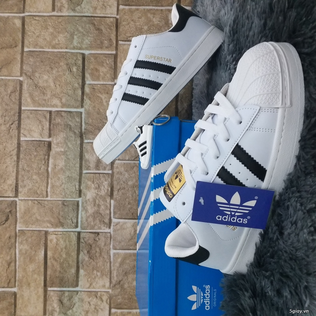 Giày sneaker thể thao adidas Super Star (hàng f1) - 2