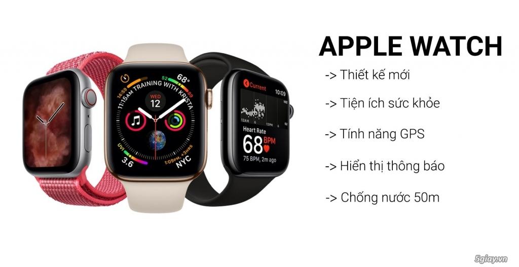 [Mã ELMS5TR giảm 5% đơn 5TR] Đồng hồ Apple Watch Series 5 Thép gold 4 - 4
