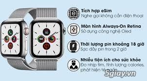 [Mã ELMS5TR giảm 5% đơn 5TR] Đồng hồ Apple Watch Series 5 Thép gold 4 - 1