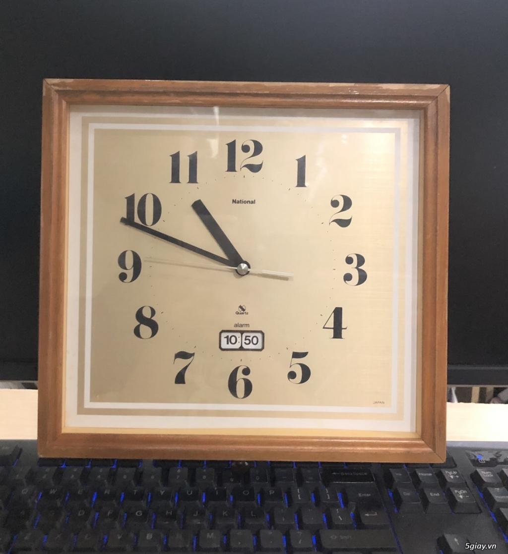 Đồng hồ treo tường nội địa Nhật CASIO, SEIKO,RYHTHM,CITIZEN,SMALLWORL