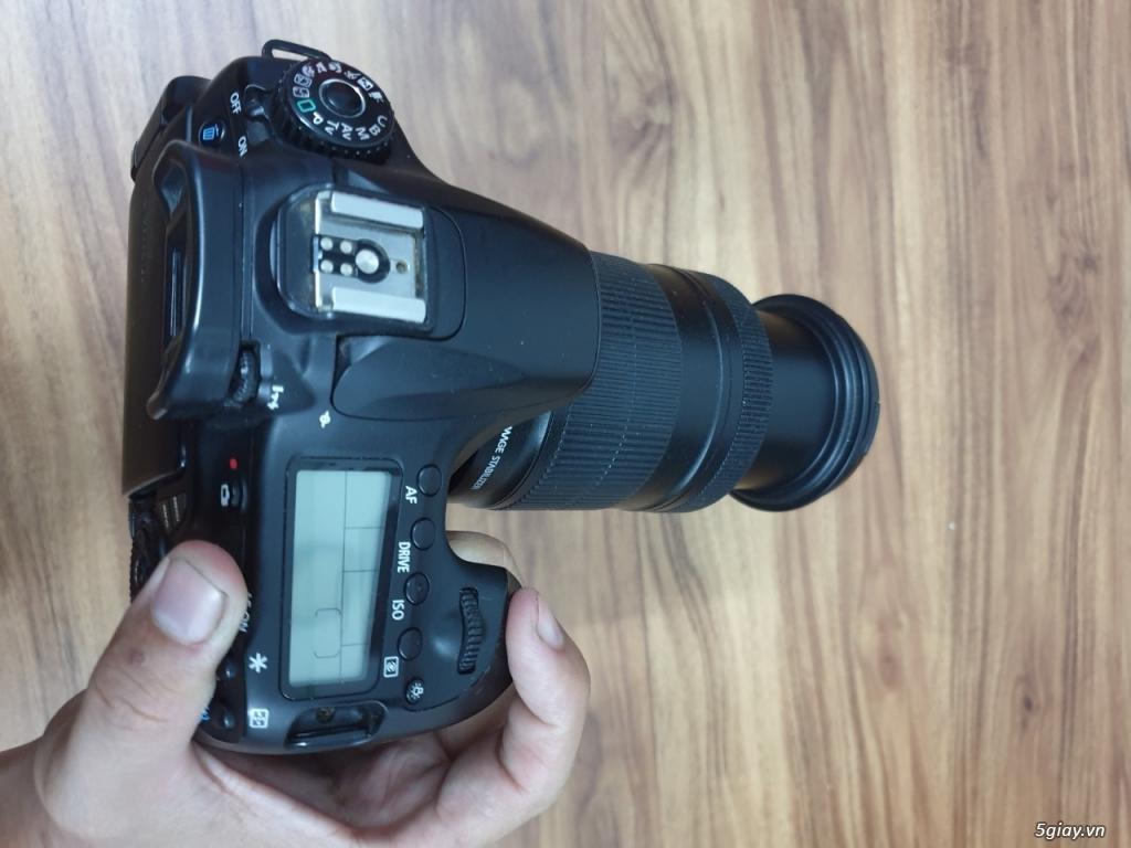 Cần bán Máy ảnh Canon 60D + Len Canon 18-135mm F3.5-5.6 IS đang dùng - 4
