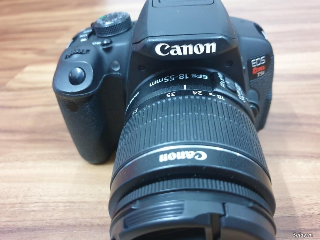 Canon T5i 12k shot + len kit 18-55 IS 98% - 3