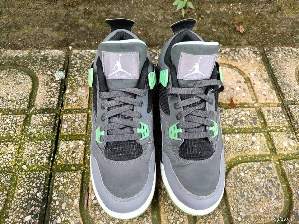 Giày AIR JORDAN 4 RETRO GREEN GLOW chính hãng|zalo :0907130133 - 3