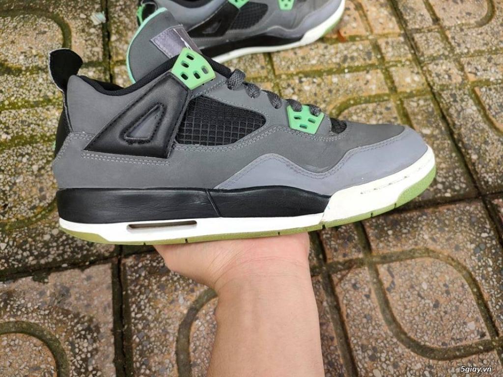 Giày AIR JORDAN 4 RETRO GREEN GLOW chính hãng|zalo :0907130133 - 5