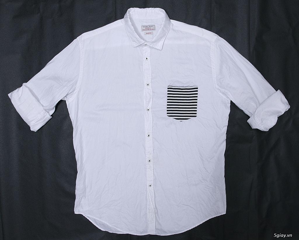 Sơ mi trắng UniQLo, ZARA chuẩn áo ET 22h59' - 6/6/2021.