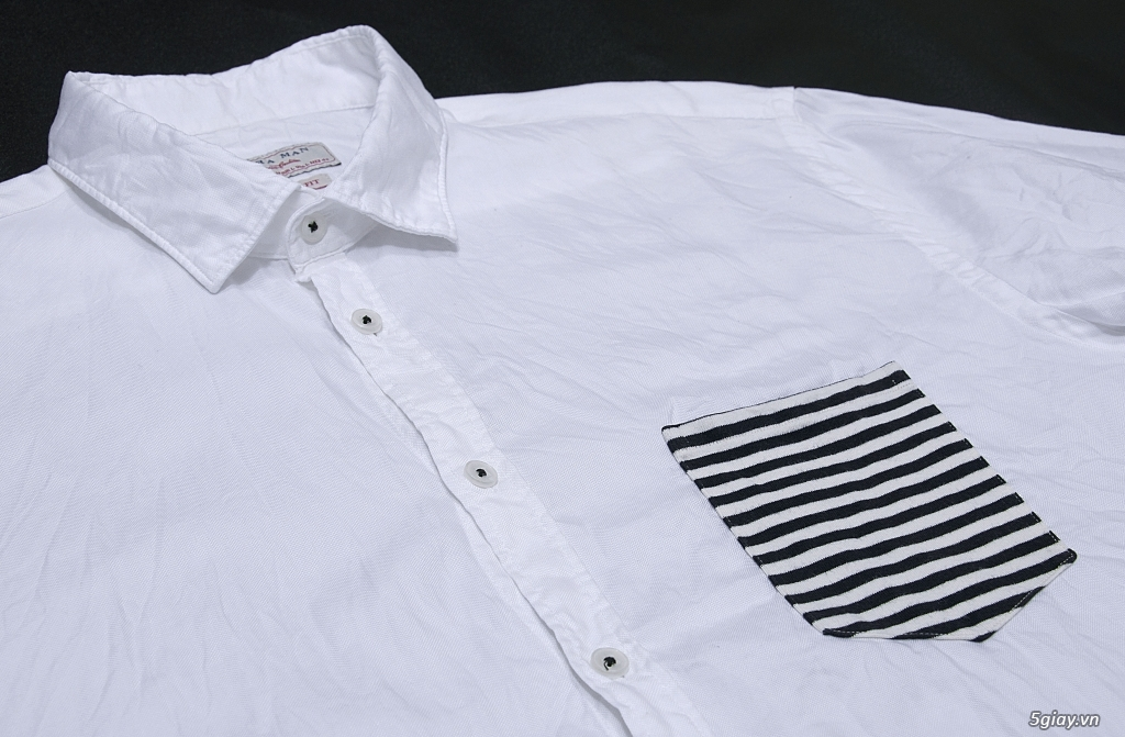 Sơ mi trắng UniQLo, ZARA chuẩn áo ET 22h59' - 6/6/2021. - 2