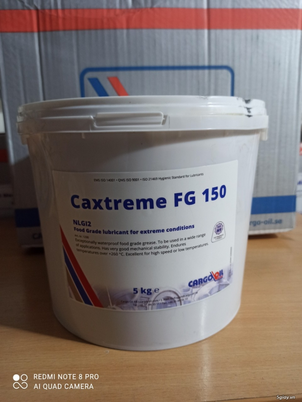 mỡ bôi trơn cấp thực phẩm catrem FG 150