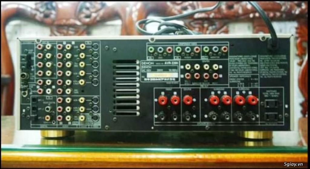 Amply Denon AVR-3300 hàng nội địa zin điện 100V