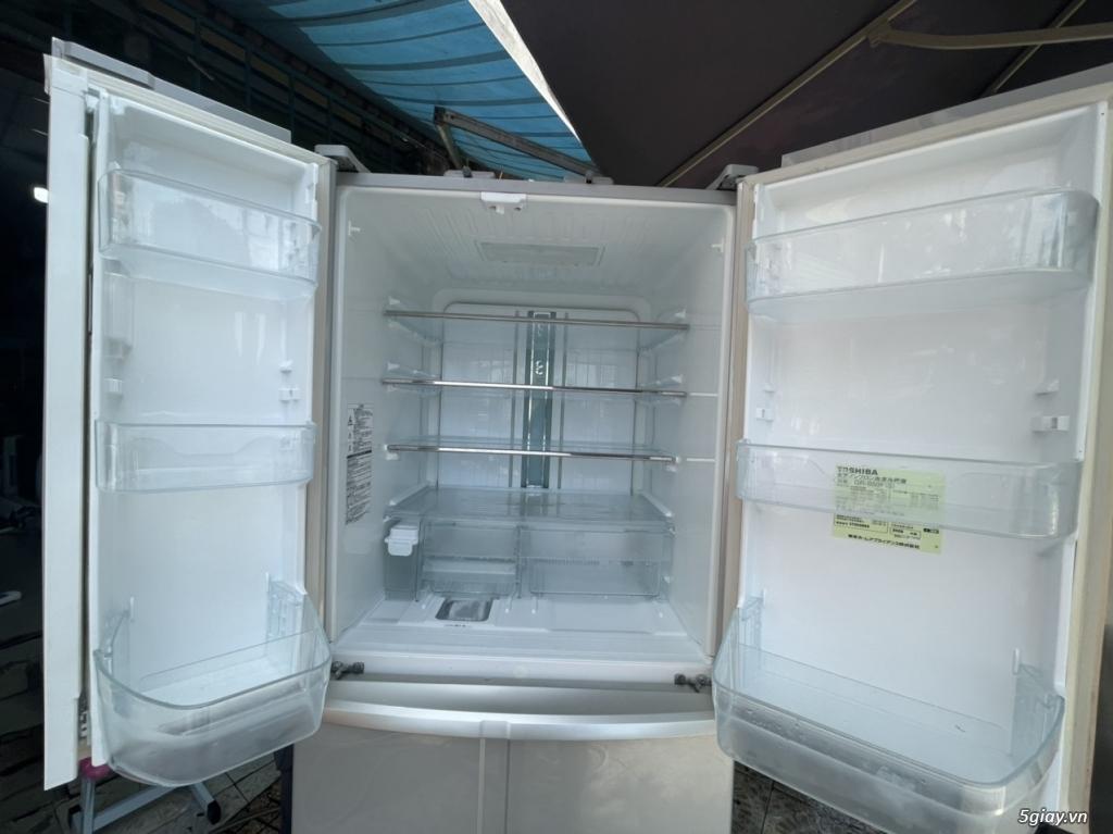 SALE: Tủ lạnh TOSHIBA 6 cánh 510L - 3