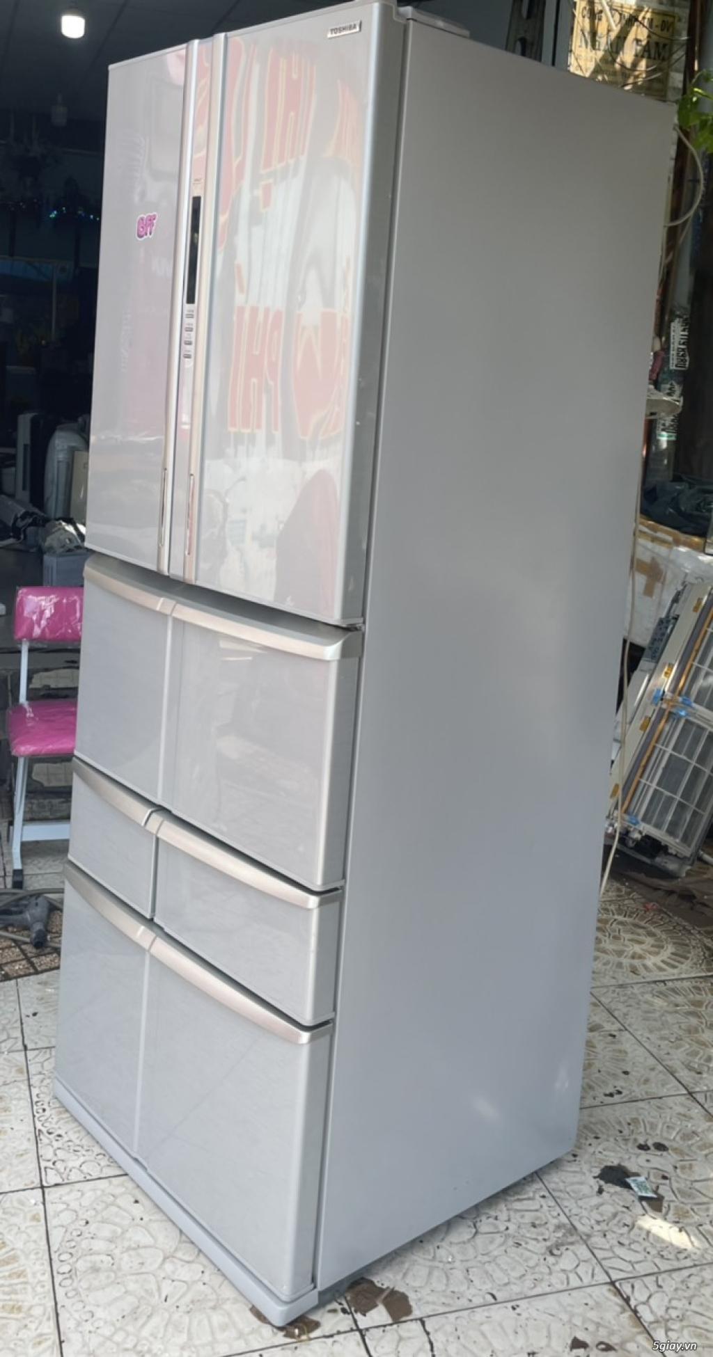 SALE: Tủ lạnh TOSHIBA 6 cánh 510L - 2