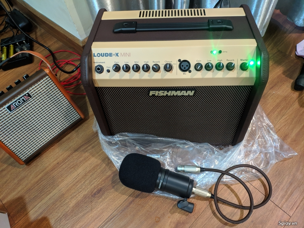 cần bán loa acoustic Fishman Loudbox Mini 60W có bluetooth - 3
