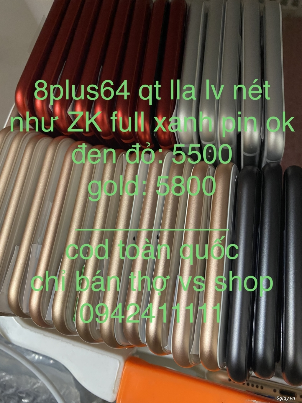 Bảng Giá Sỉ iPhone 6s | 6splus | 7g | 7plus | 8g | 8plus QT lla (COD) - 5