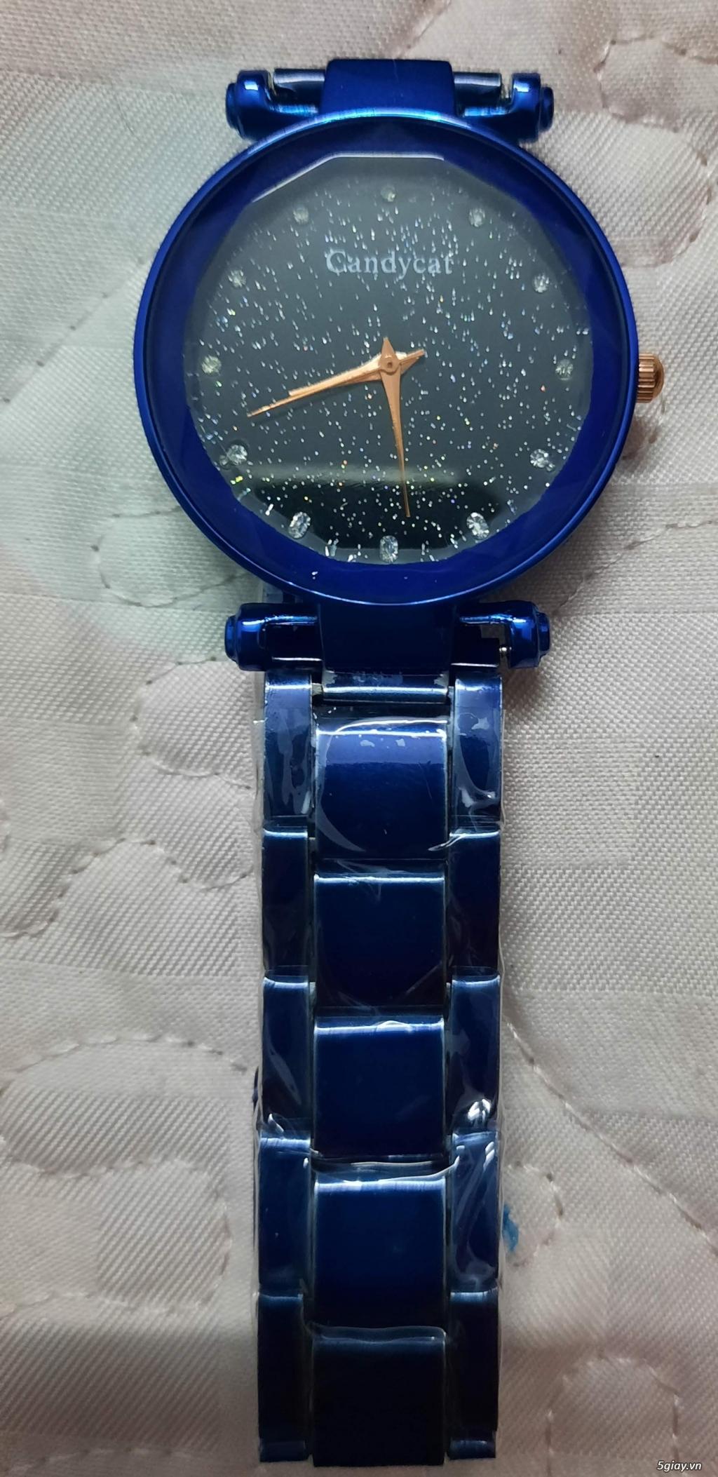 Đồng hồ đeo tay nữ mới 100% end 23h ngày 14/6/2021 - 1
