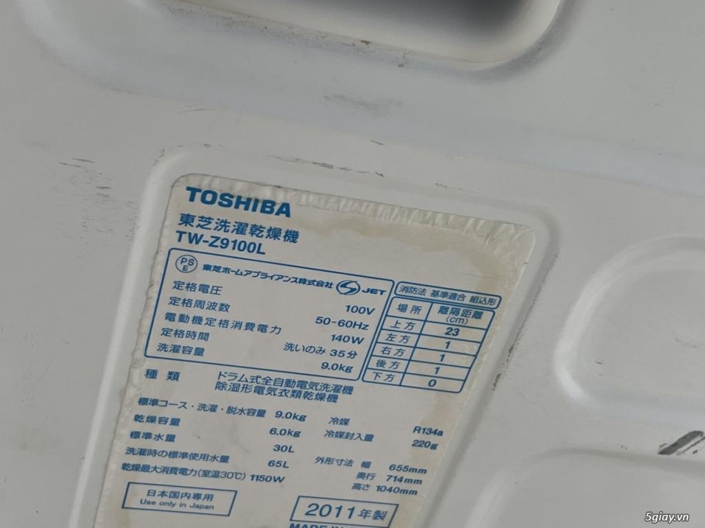 Máy giặt nội địa TOSHIBA TW-Z9100 9KG sấy 6KG - 29