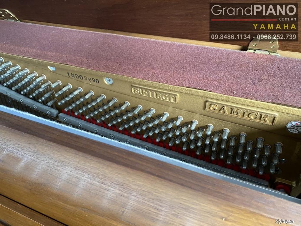 Sản phẩm PIANO cơ Hàn Quốc SAMICK SU-118CT INDO03690 có sẵn - 9
