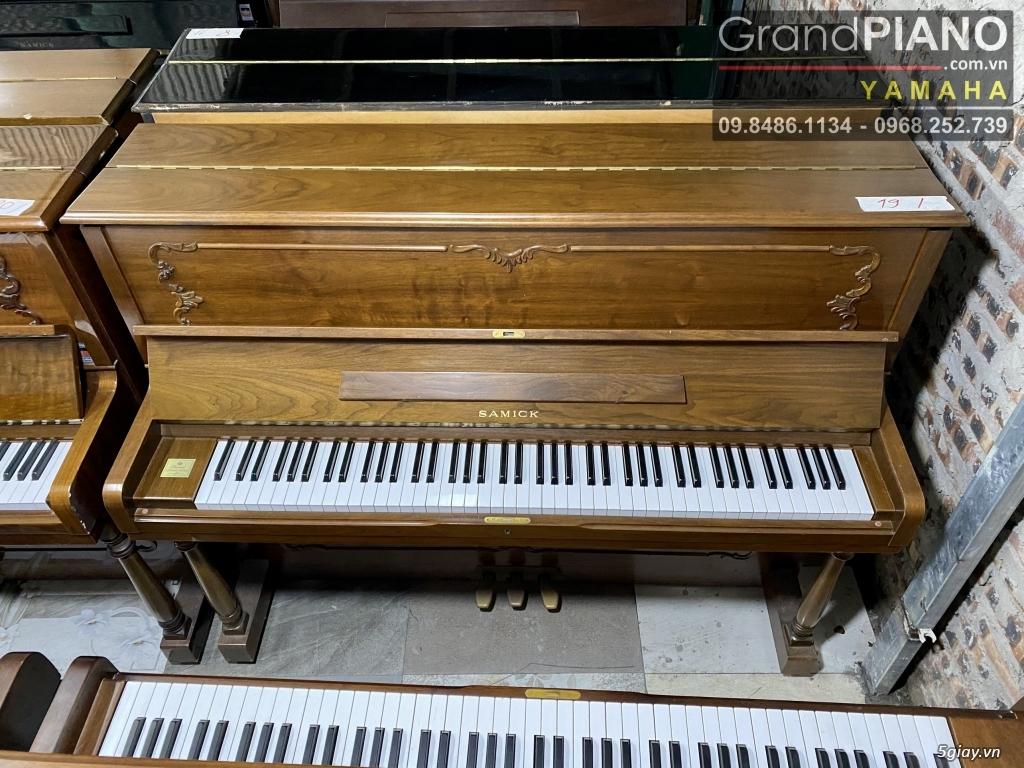 Sản phẩm PIANO cơ Hàn Quốc SAMICK SU-118PSA IJK06189 có sẵn - 9