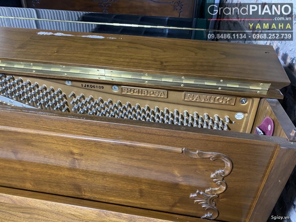 Sản phẩm PIANO cơ Hàn Quốc SAMICK SU-118PSA IJK06189 có sẵn - 10