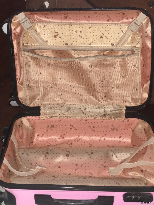 Thanh lý vali size 20 bánh xe xoay 360 - 4