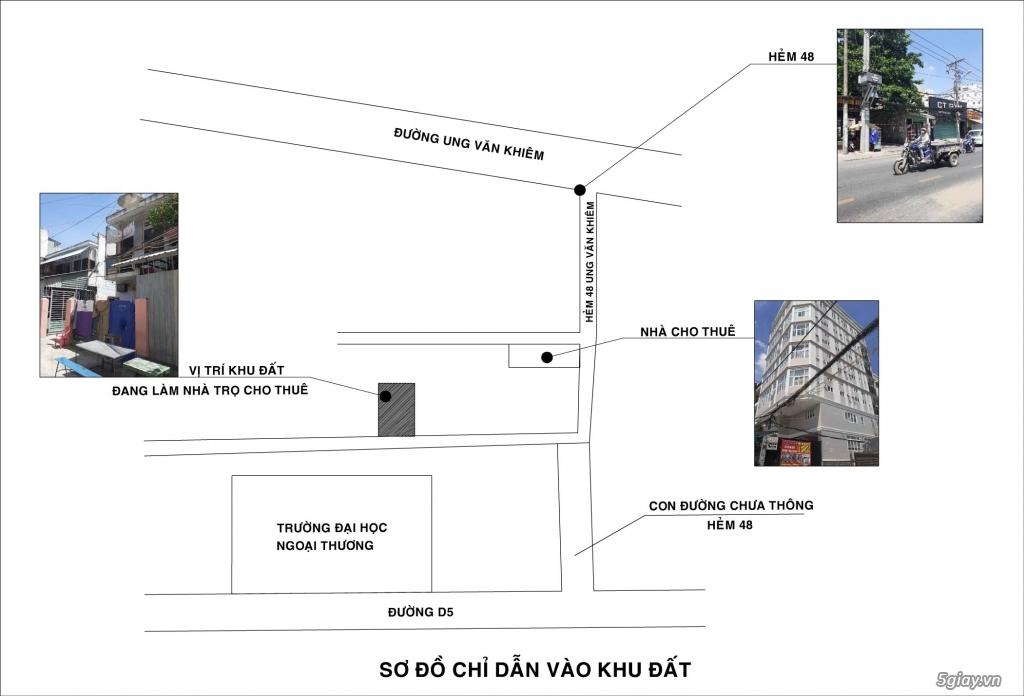 02 Lô Đất Liền Kề Hẻm Ung Văn Khiêm, P25, Bình Thạnh, 320m2 - 5